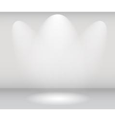 Light in Gallery vector image vector image