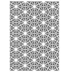 Block print vector image vector image
