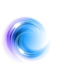 abstract circle smoke on white blue vector image vector image
