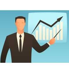Analysis business conceptual with vector image vector image