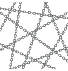 Chain pattern vector image