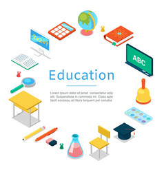back to school and education object icons vector image