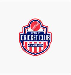 Cricket club badge logo-3 vector
