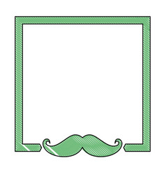 Decorative frame icon vector