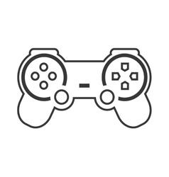 Videogame control game design vector