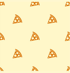 pizza seamless pattern texture bacground vector image vector image