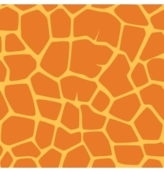 seamless giraffe pattern vector image vector image