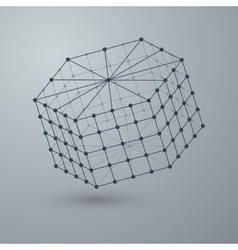 a polygonal shape vector image