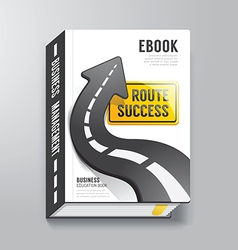 Book Cover Design Template Business Concept vector
