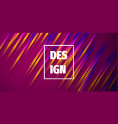 Colorful gradient abstract background dynamic vector