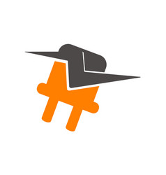 electricity logo vector image