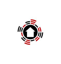 Home signal entertainment vector