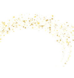 Magic gold sparkle texture star background vector