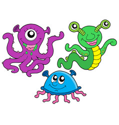 monster collection 1 vector image