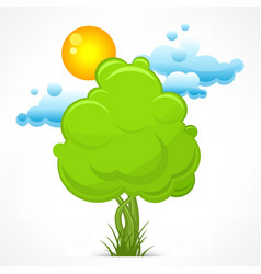 Nature stylized vector