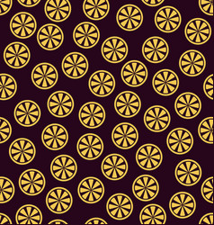 Orange pattern seamless vector