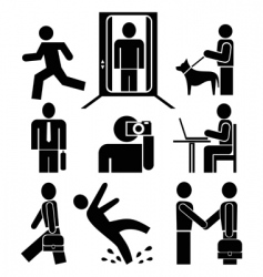 pictograms vector image