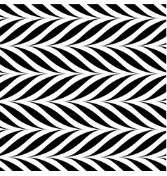 seamless decorative pattern weave striped vector image