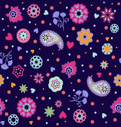 summer floral Summer flower vector image