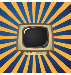 Television graphic vector image