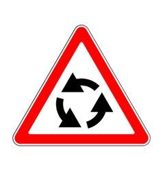 Traffic-road sign vector