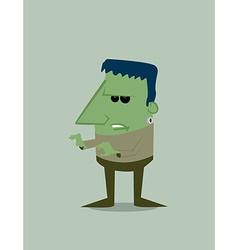 Cartoon Frankenstein vector image