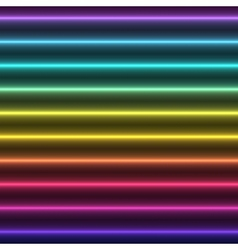 Abstract Colorful Glow straight Lines vector image