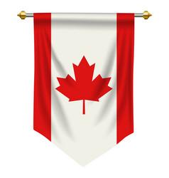 Canada pennant vector