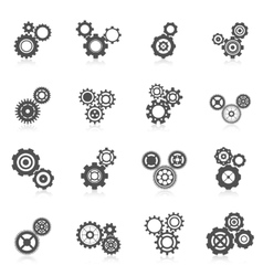Cog Wheel Icon vector