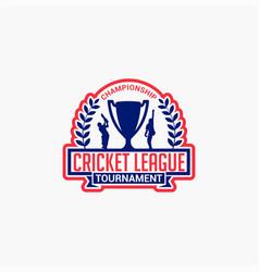Cricket club badge logo-10 vector