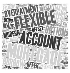 Flexible mortgages are made for today s modern vector