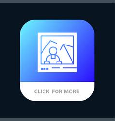 Picture image landmark photo mobile app icon vector