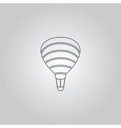 Sky balloon vector image
