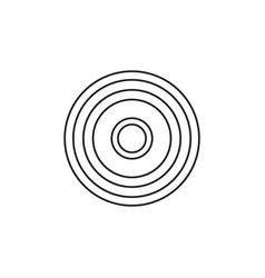 sun symbol icon vector image