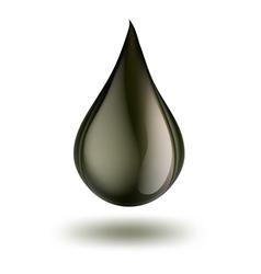 petrol drop vector image vector image