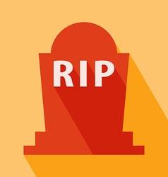 Grave icon vector