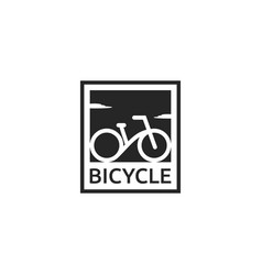 Bike logo design vector