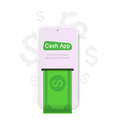 cash app great design for any purposes vector image