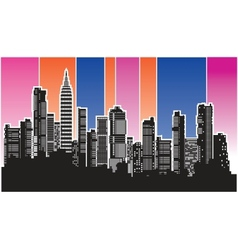 city4 vector image