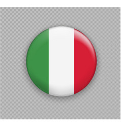 Flag of italy the right colors and proportions vector