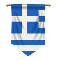 Greek pennant vector