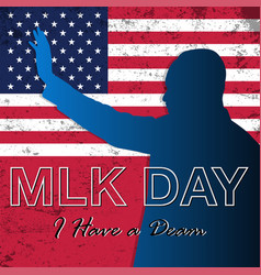 Martin luther king jr day background vector