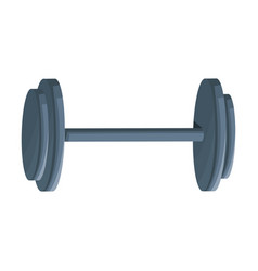 Dumbbell weight gym equipment hard image vector