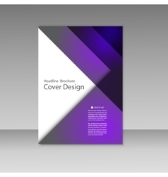 Business report square and geometric cover vector