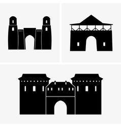 Gateways vector image