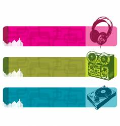 musical equipment vector image vector image
