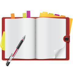 personal organizer vector image
