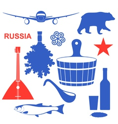 Russia vector image