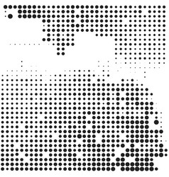 Halftone comic background vector