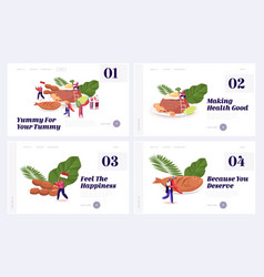 Oriental indonesian cuisine traditional meals vector